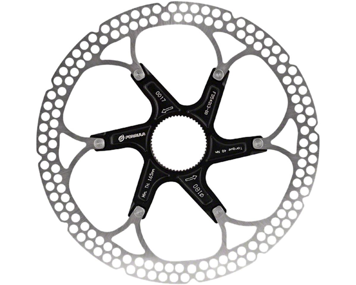 Al Cr 2-Piece Disc Rotor Black 180Mm Centerlock