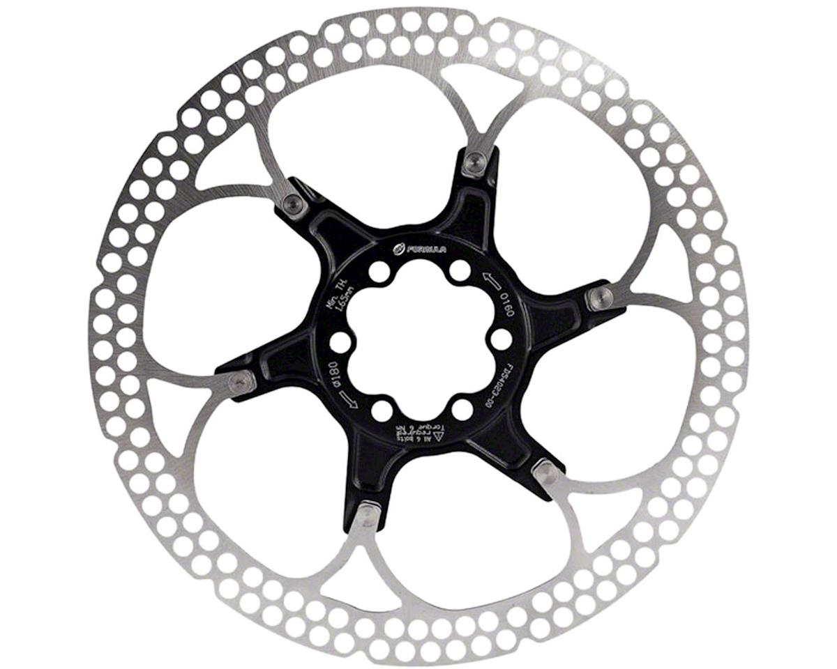 Al Cr 2-Piece Disc Rotor Black 180Mm 6 Bolt