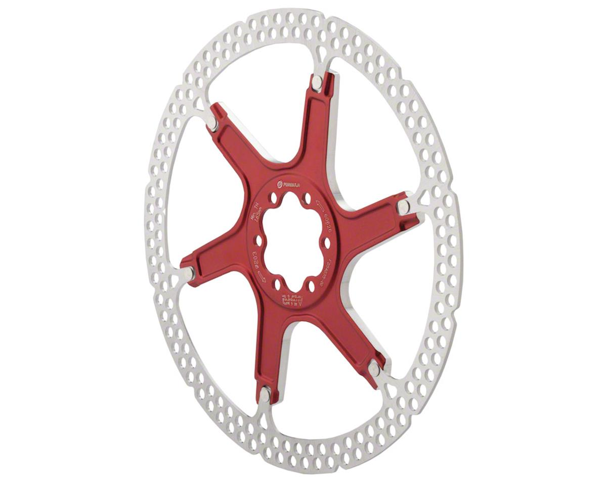 Disc Rotor Alloy 203Mm 6 Bolt Red