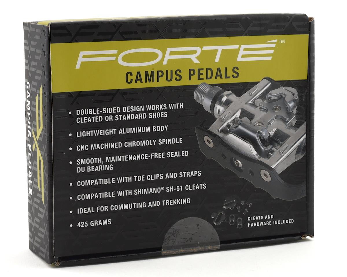 Forte Campus Pedals Dual-sided pedals (Cleats Included)