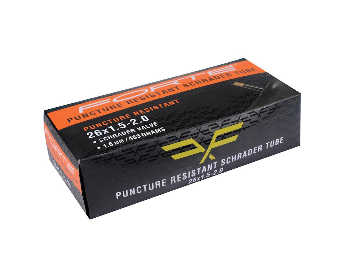 "Forte MTB Puncture Resistant Schrader Tube 26 x 1.5-2.0"""