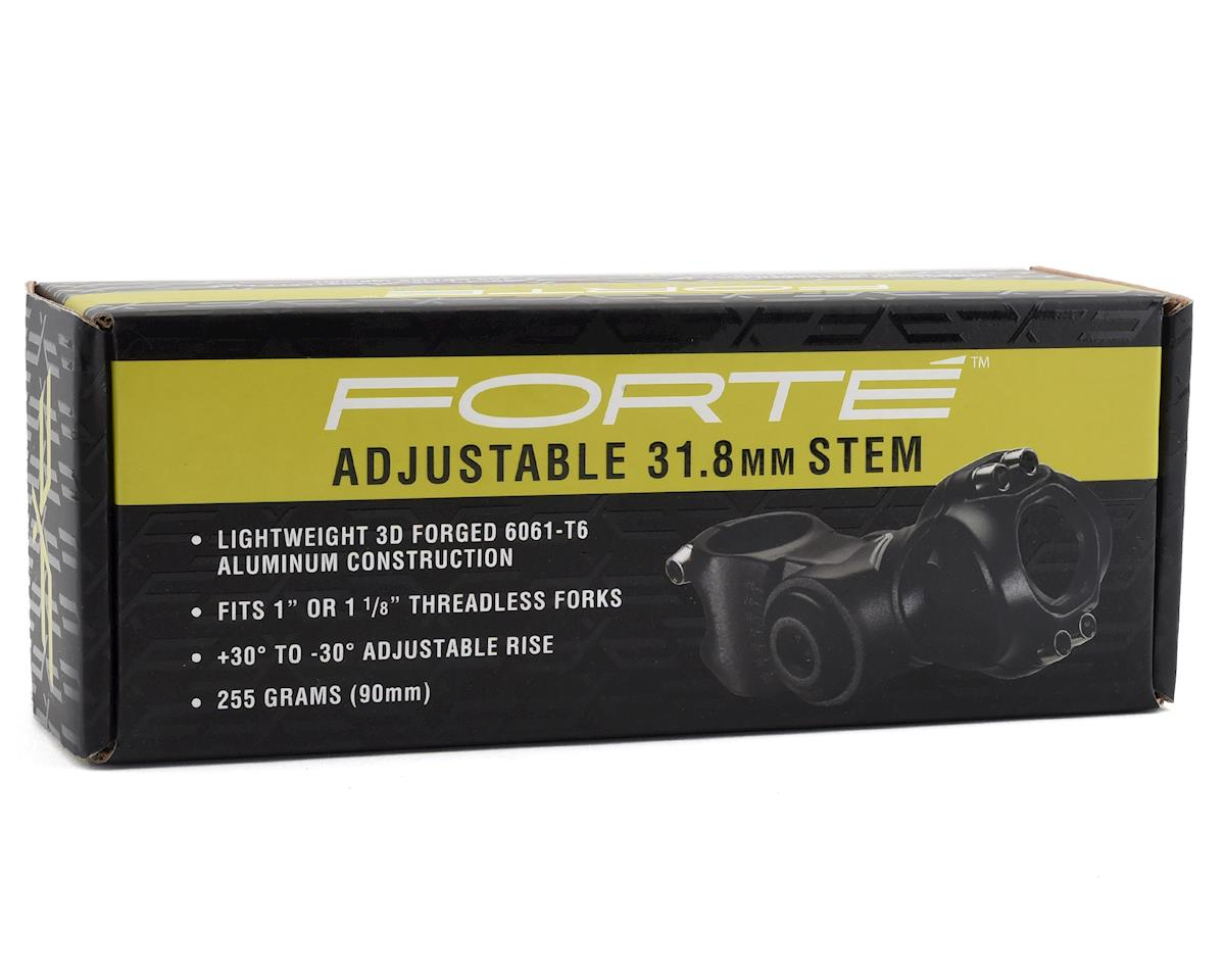 "Forte Adjustable 31.8mm Stem (Fits 1"" or 1-1/8"") (+/-30°) (110mm)"