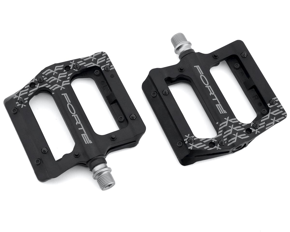 Forte Transfer Platform Flat Pedals (Black) | relatedproducts