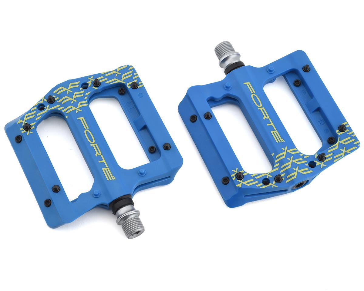 Forte Transfer Platform Pedals (Blue)
