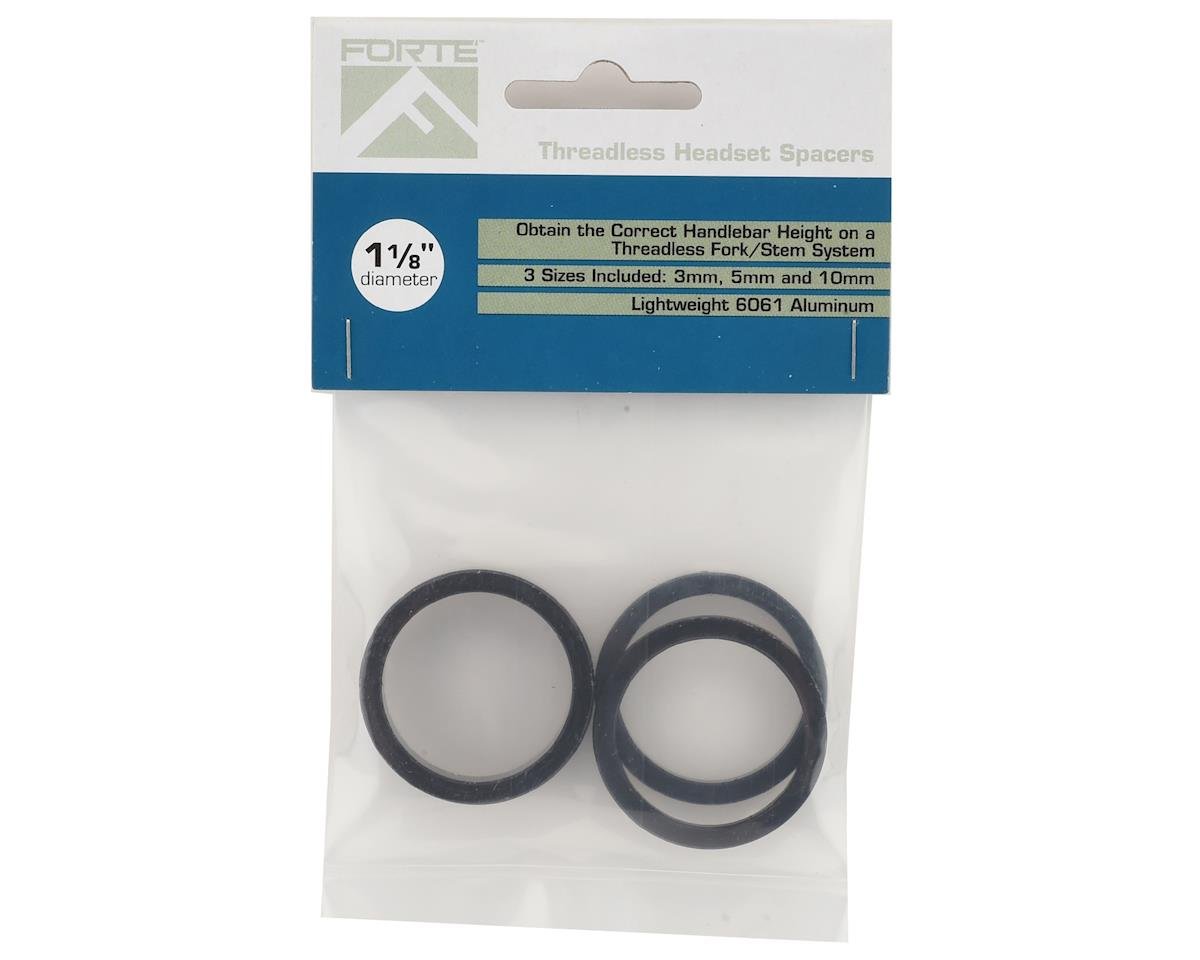 """Forte Aluminum Headset Spacer Kit (1-1/8"""")"""