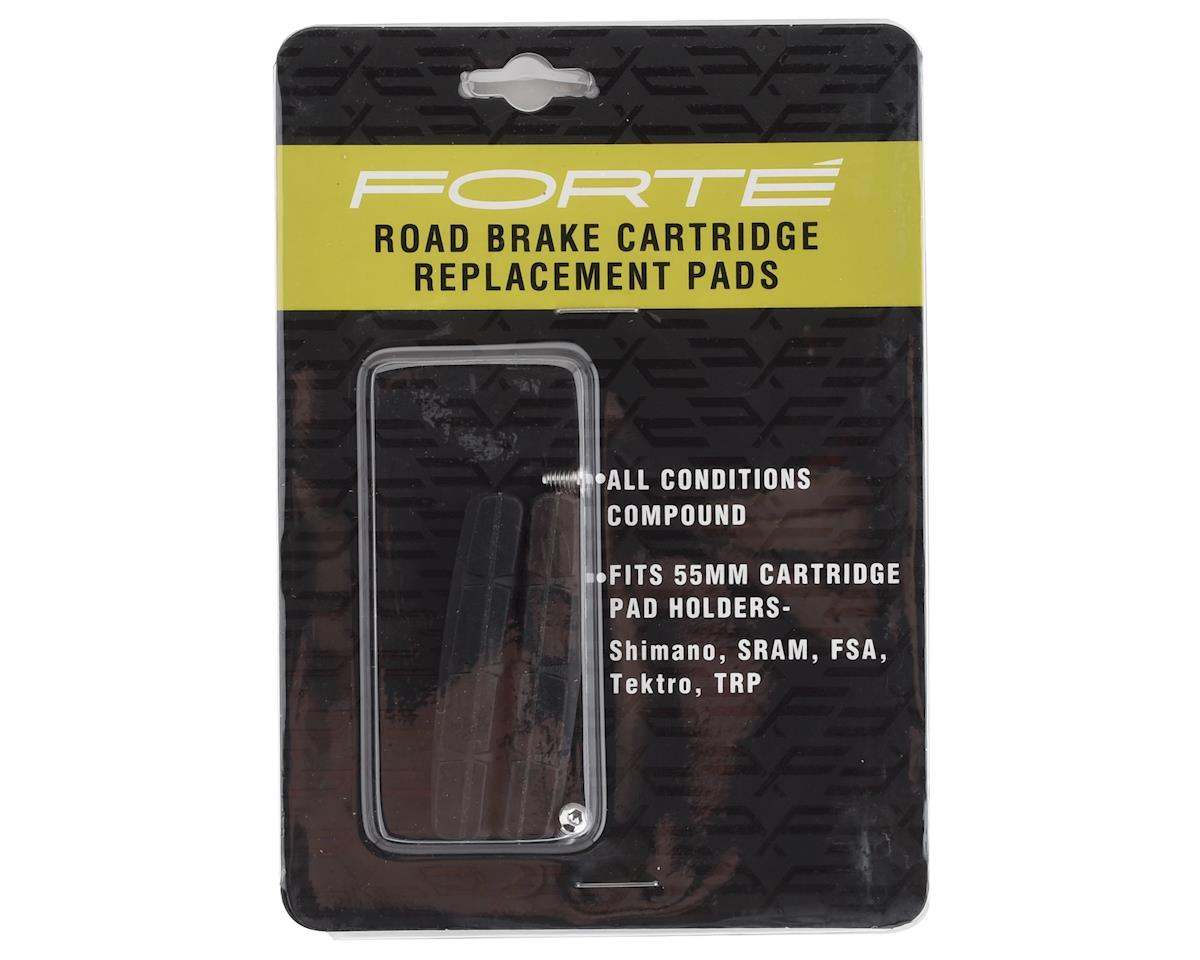 Image 2 for Forte Road Brake Cartridge Replacement Pads