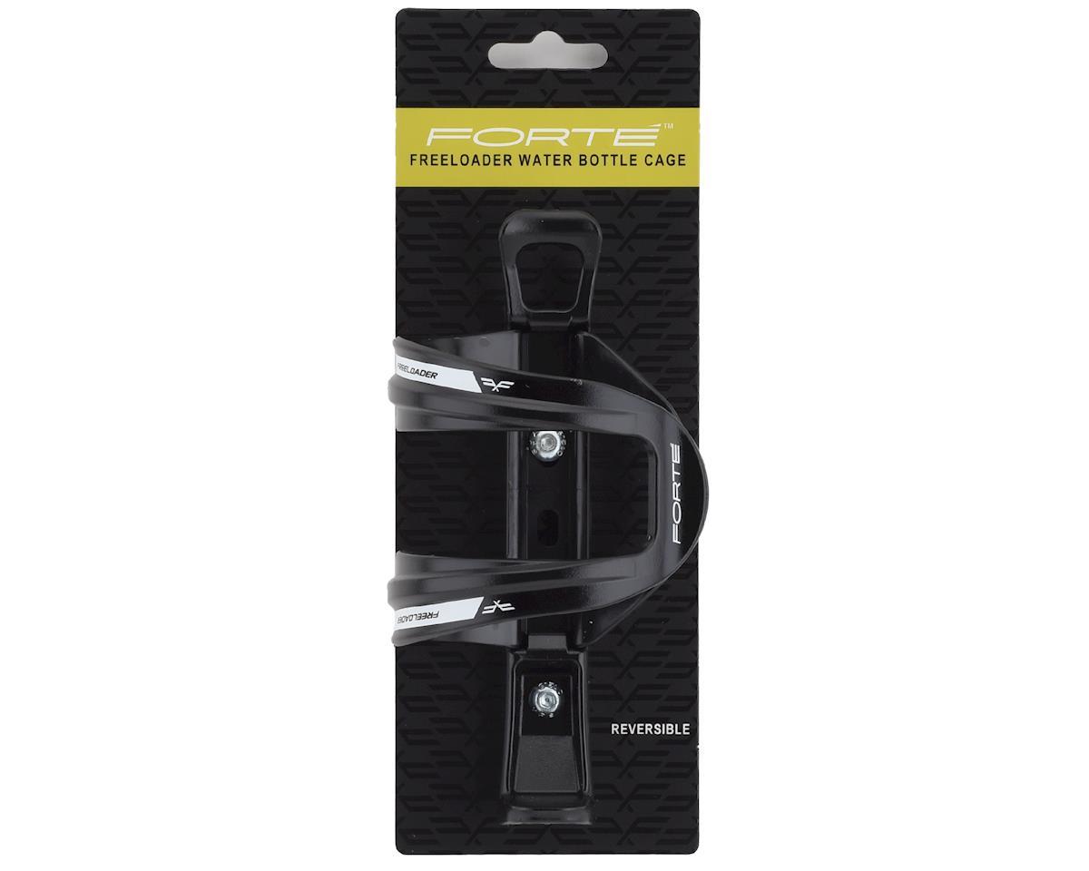 Forte Freeloader Side-Loading Water Bottle Cage (Black/White)