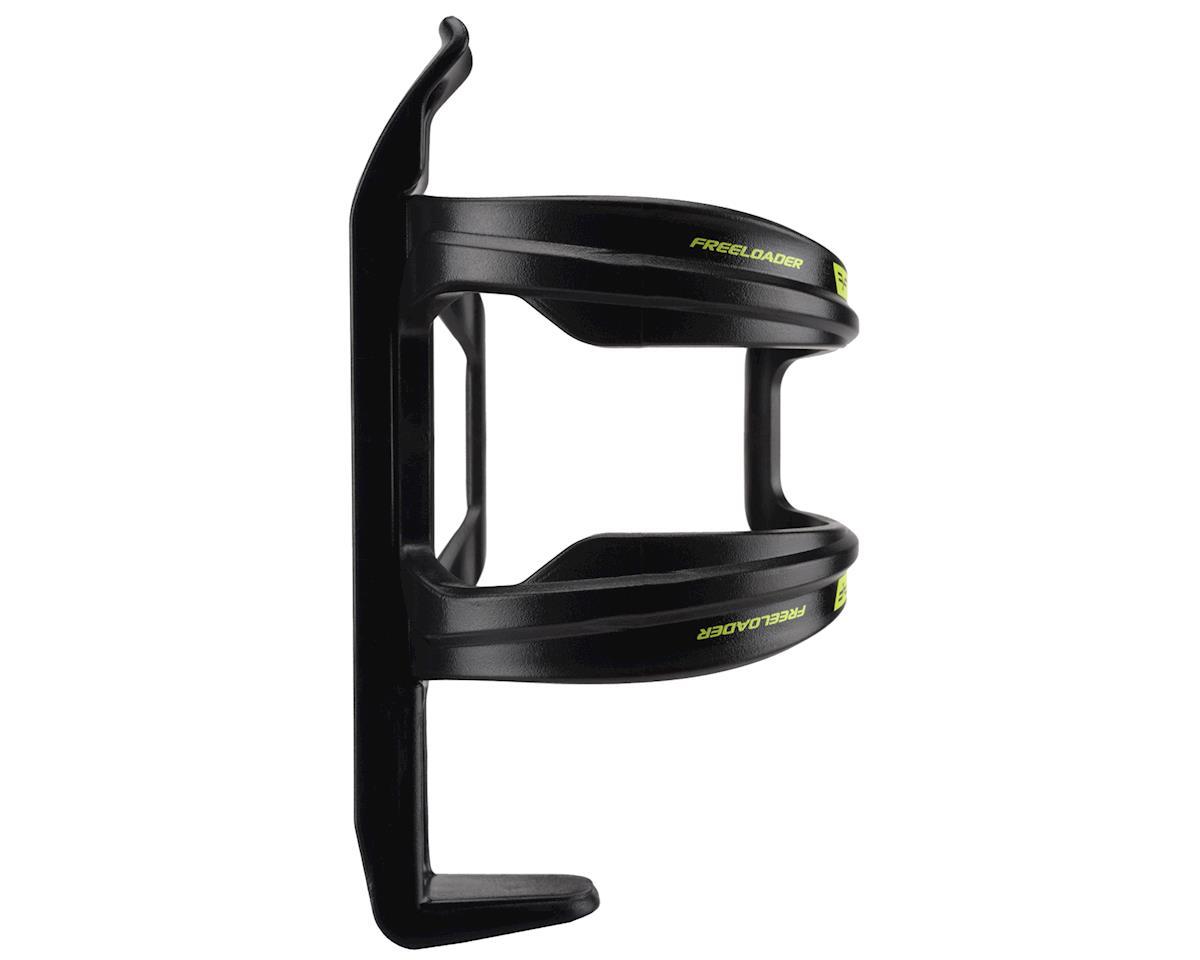 Forte Freeloader Side-Loading Water Bottle Cage (Black/Green)