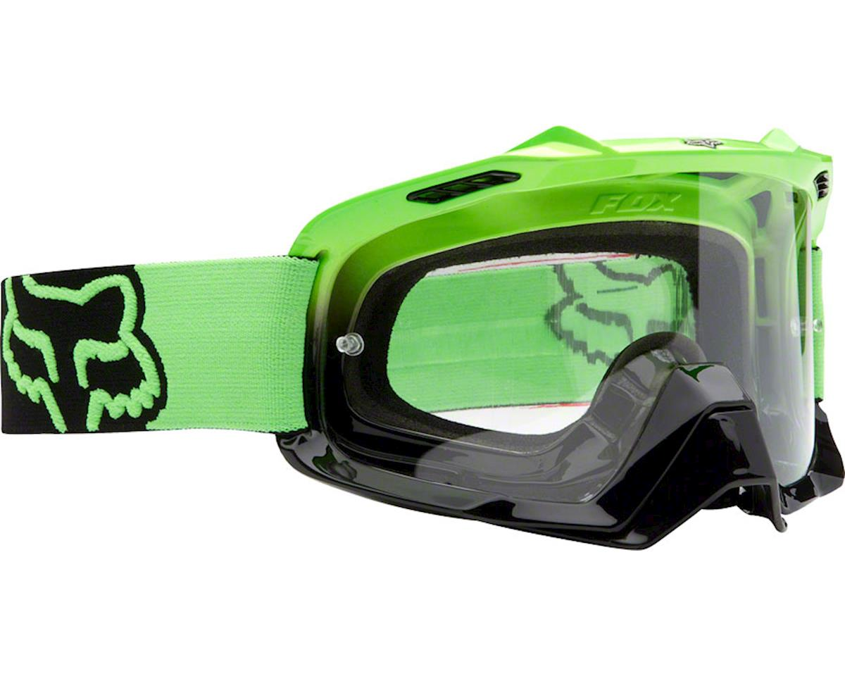 Day Glo Green-Black//Clear One Size 06333-905 Fox Racing Airspc Goggle