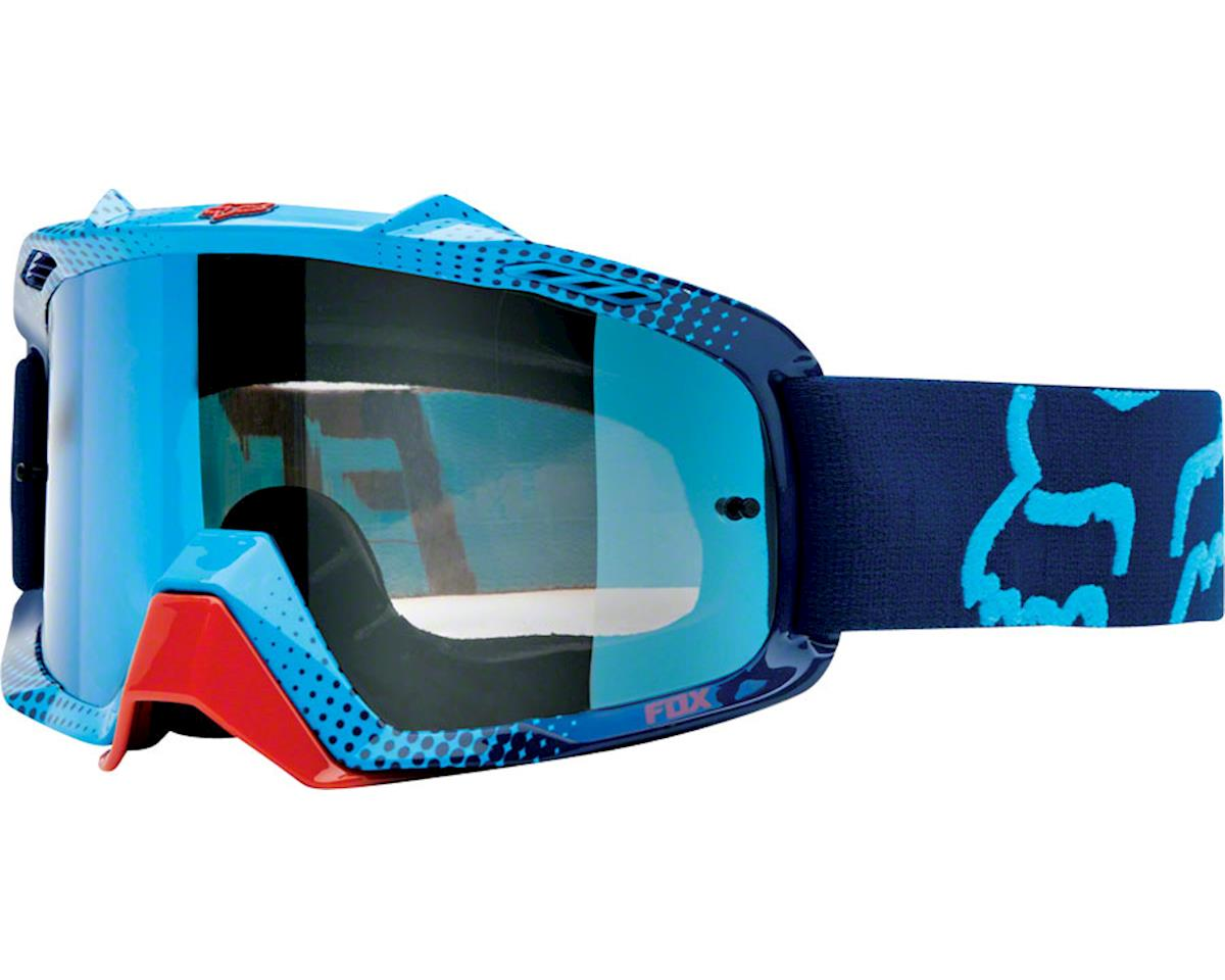 Fox Racing Airspc Goggle: 360 Blue-Red/Blue Spark One Size