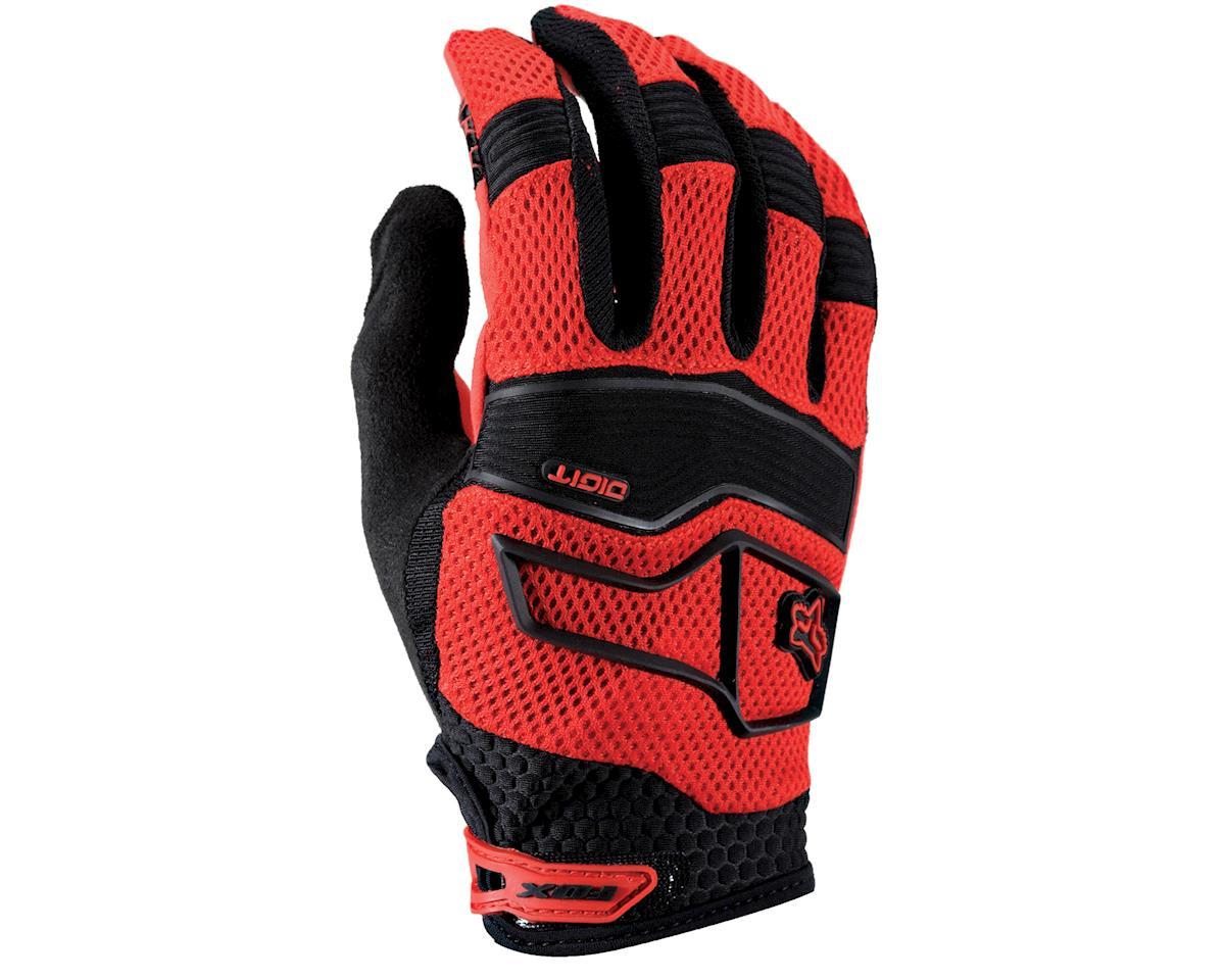 Fox Digit Glove: Red~ Md
