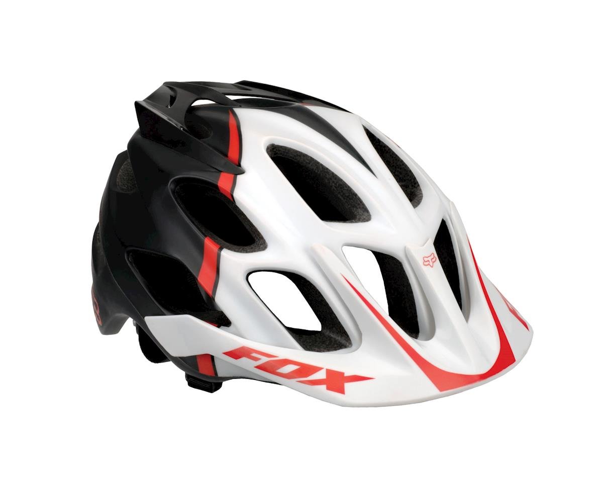 Fox Flux Helmet: Black/Red~ Sm/Md
