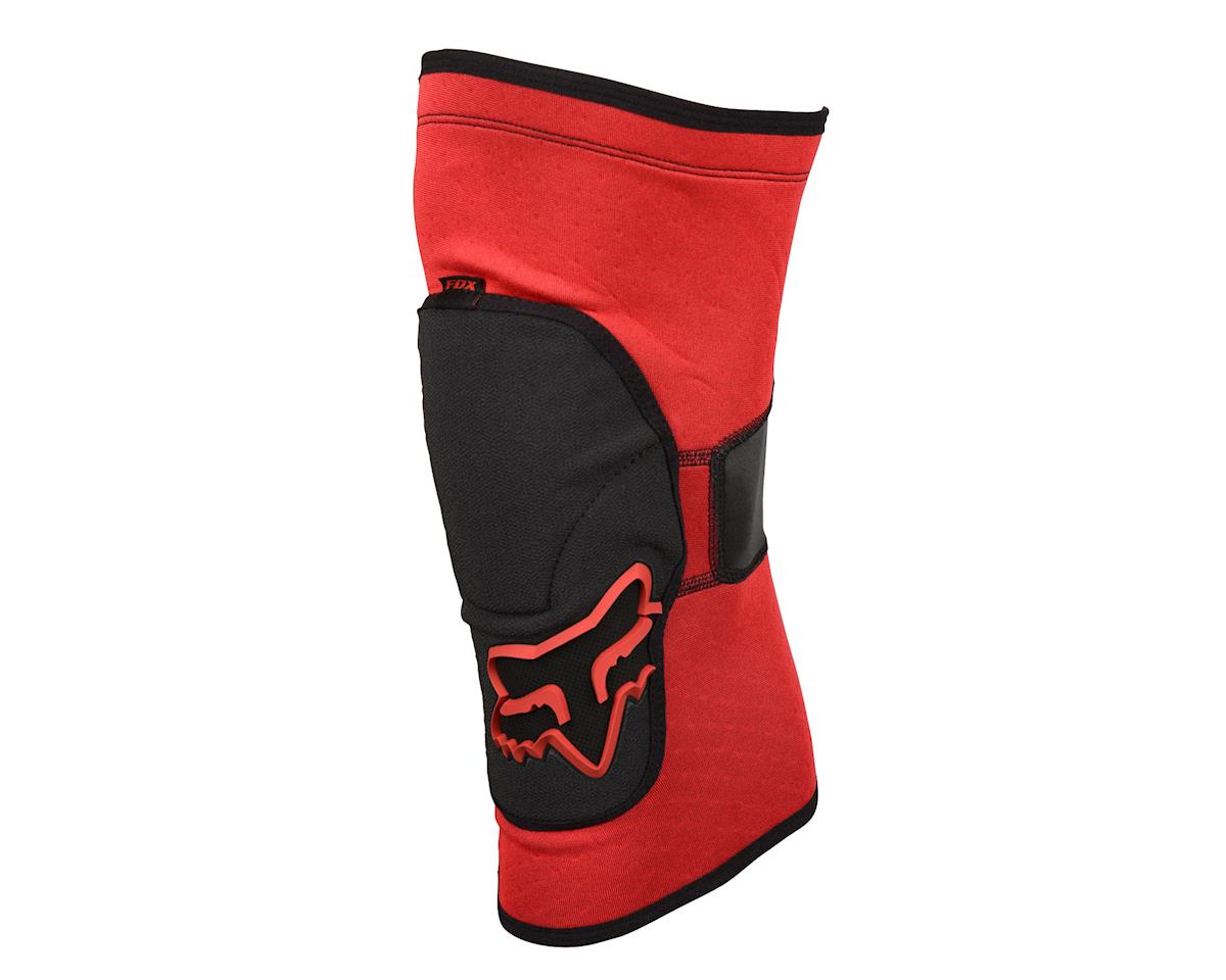 Racing Launch Enduro Knee Guard: Red
