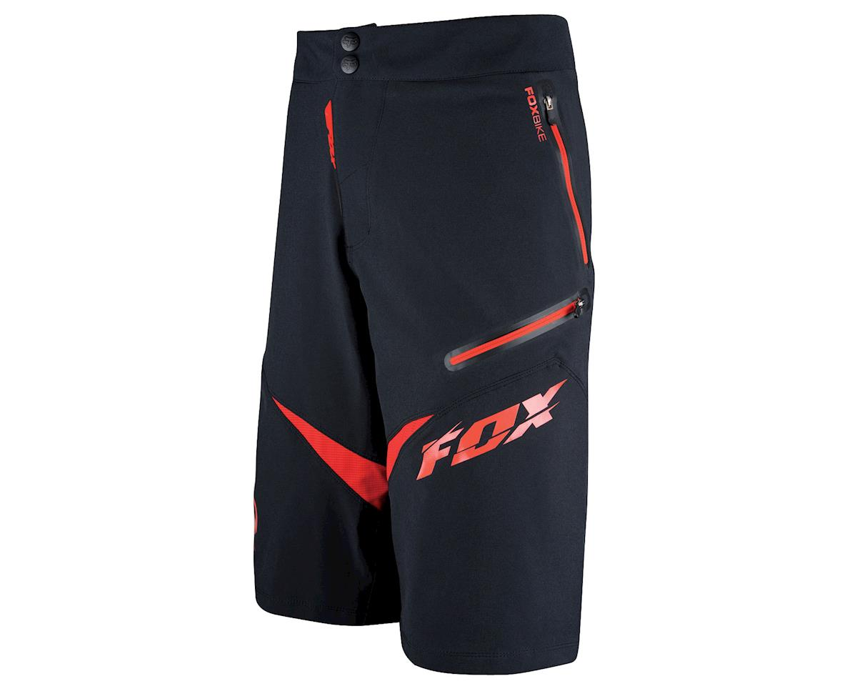 Fox Demo Freeride Shorts (Black/Red)