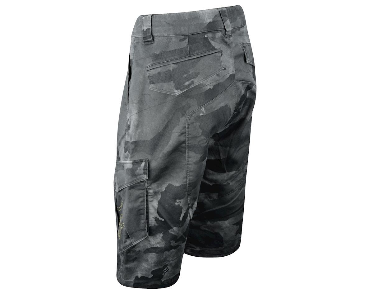 Fox Demo Cargo Shorts - Closeout! (Black Camo)