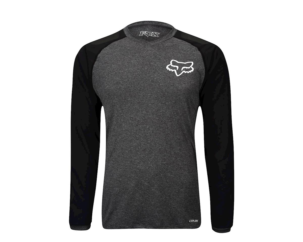 Fox Explore Long Sleeve Jersey (Grey)
