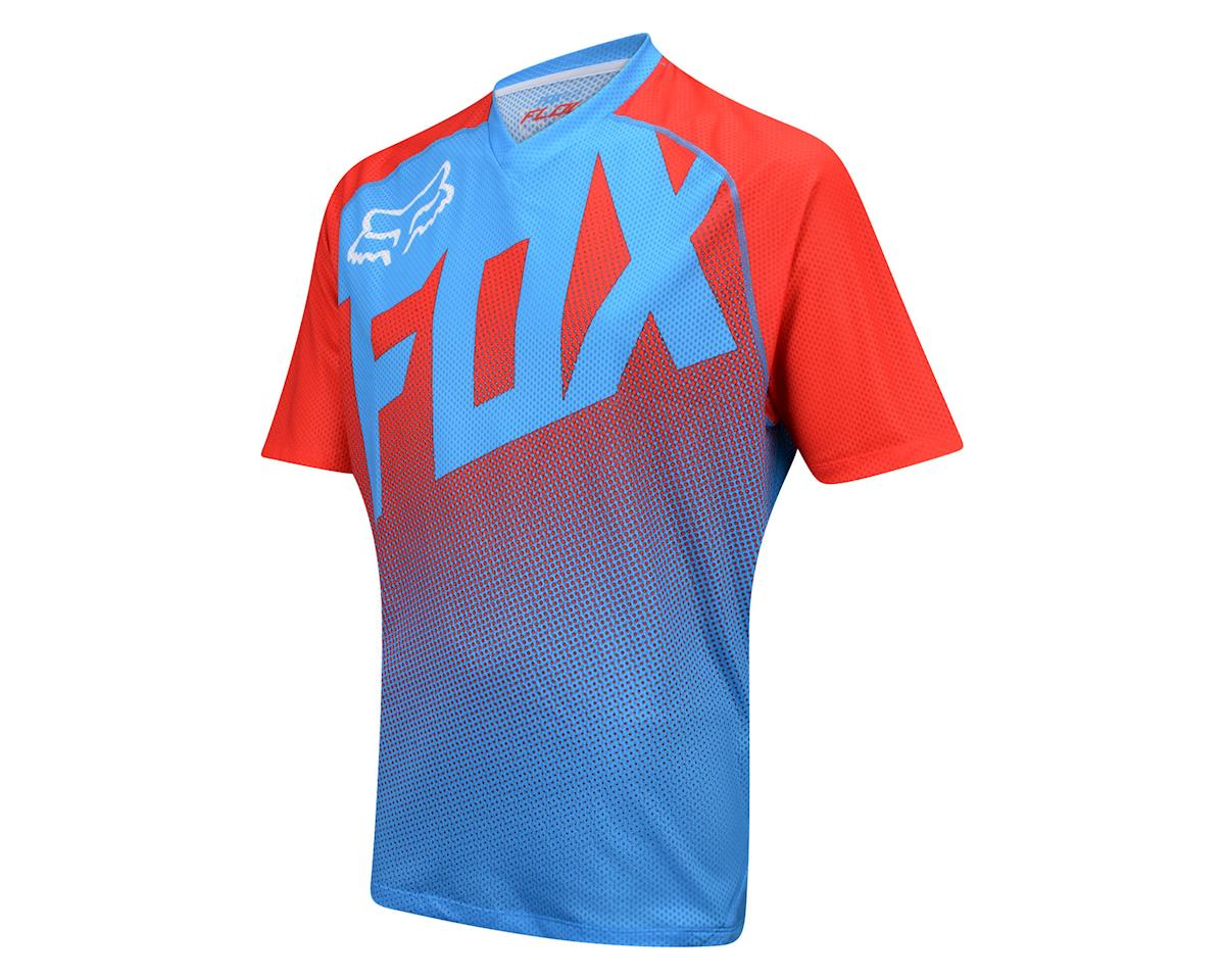 Fox Racing Flow Short Sleeve Jersey (Blue/Red)