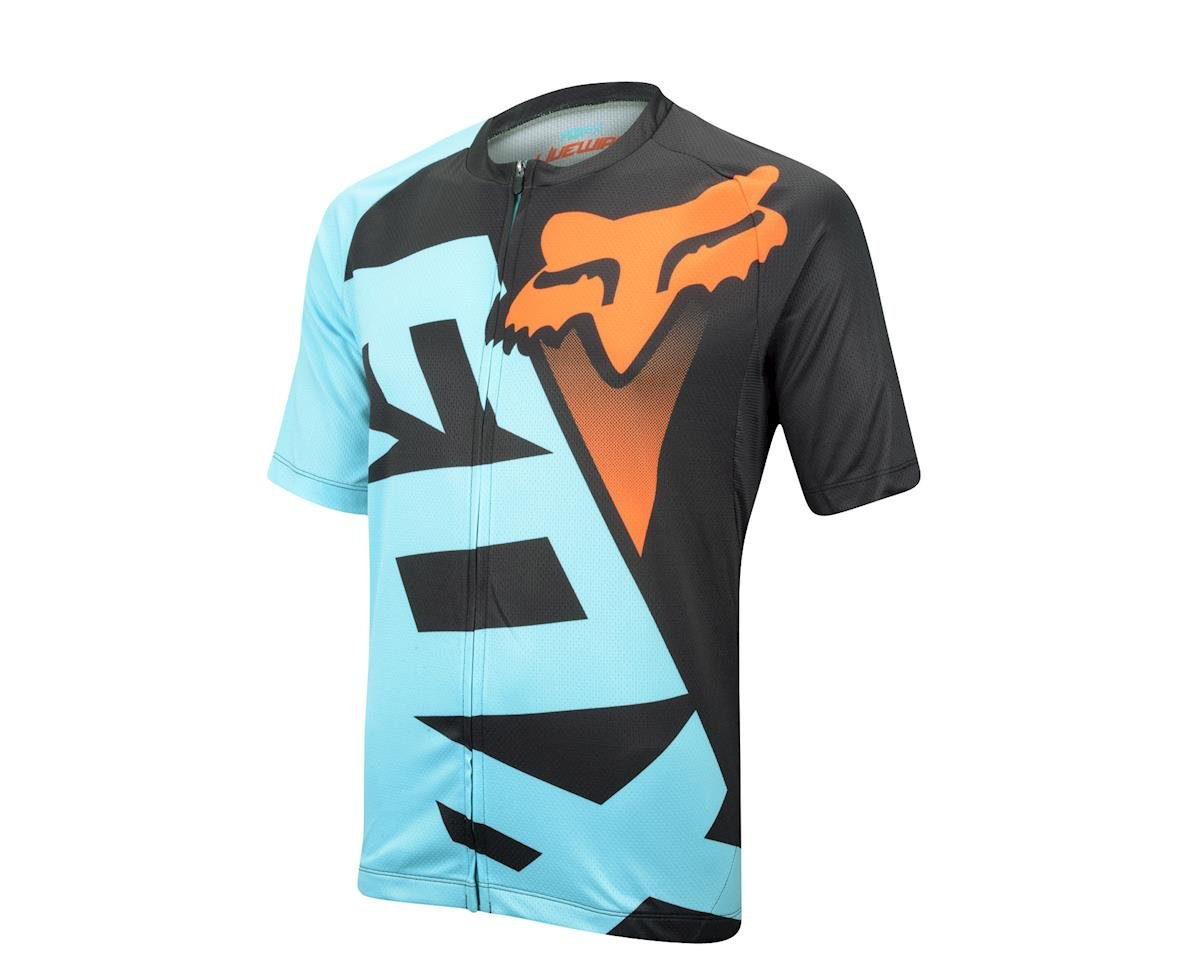 Fox Livewire Short Sleeve Jersey - 2016 (Black/Grey)