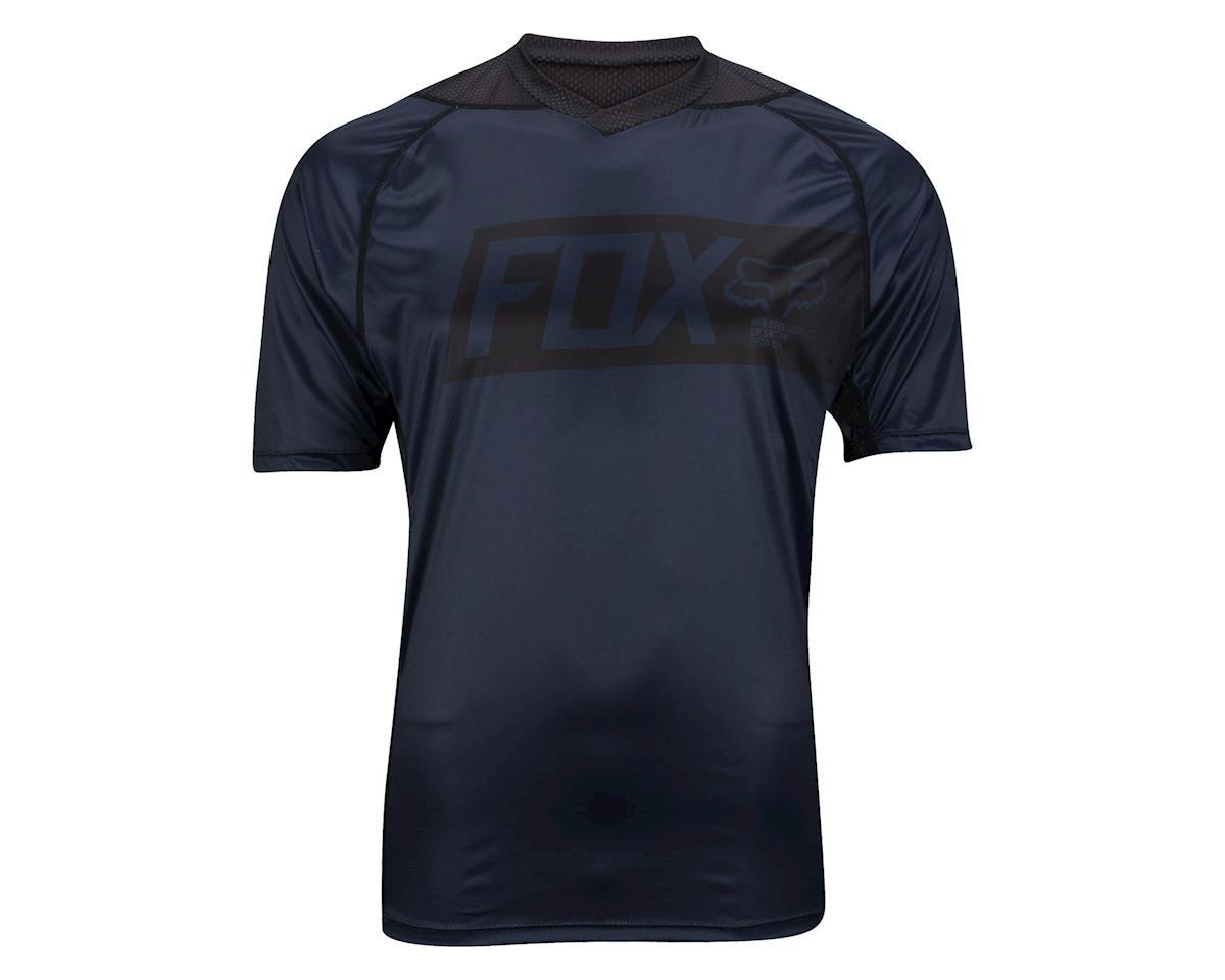Fox Racing Short Sleeve Attack Jersey (Black)