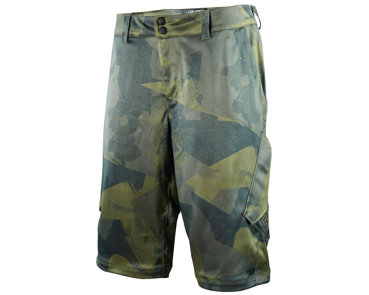 Fox Sergeant Bike Shorts (Olive Camo) (30)