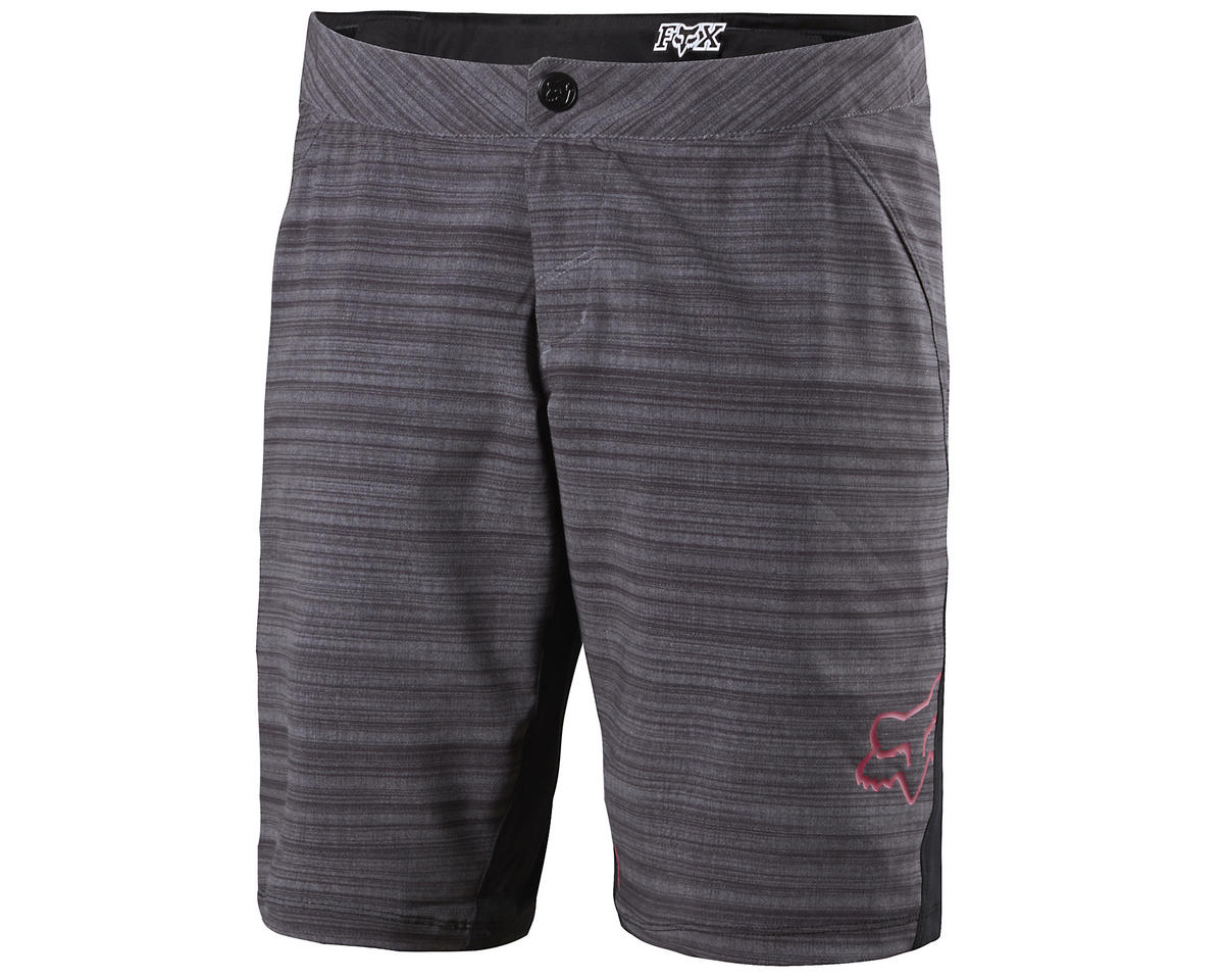 Fox Lynx Women's Bike Shorts (Heather Black)