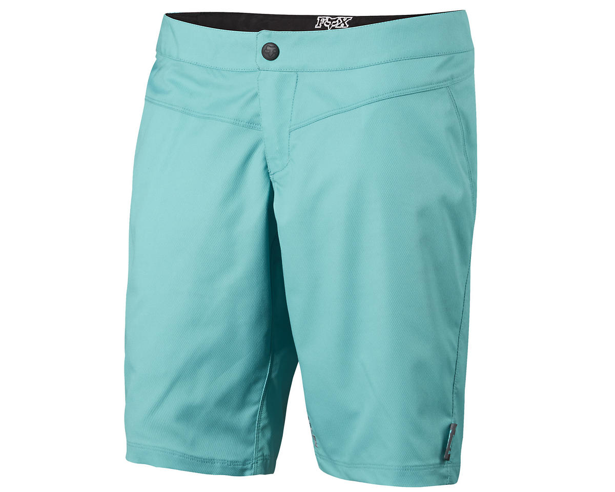 Fox Ripley Women's Bike Shorts (Miami Green) (XL)