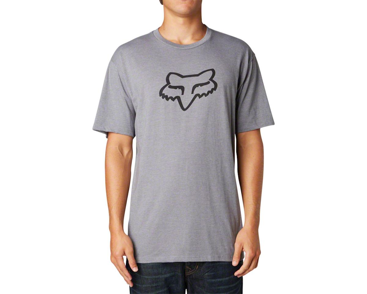 Racing Legacy  Head Short Sleeve T-Shirt (Heather Graphite)