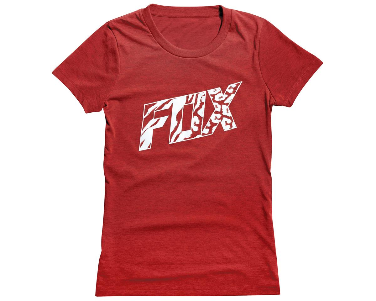 Fox Women's Bonnie Tech T Shirt (Heather Red) (L)