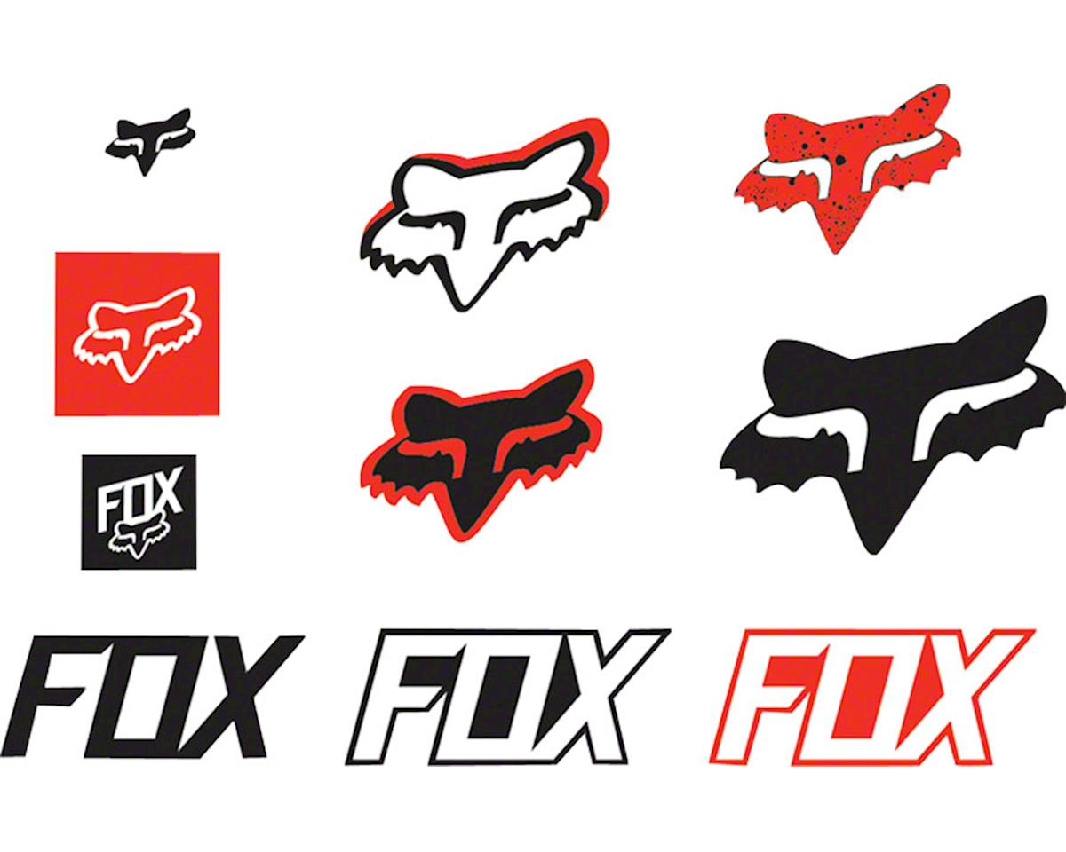 Fox Racing Track Sticker Pack Red Ns 14935 003 Ns Cyclocross