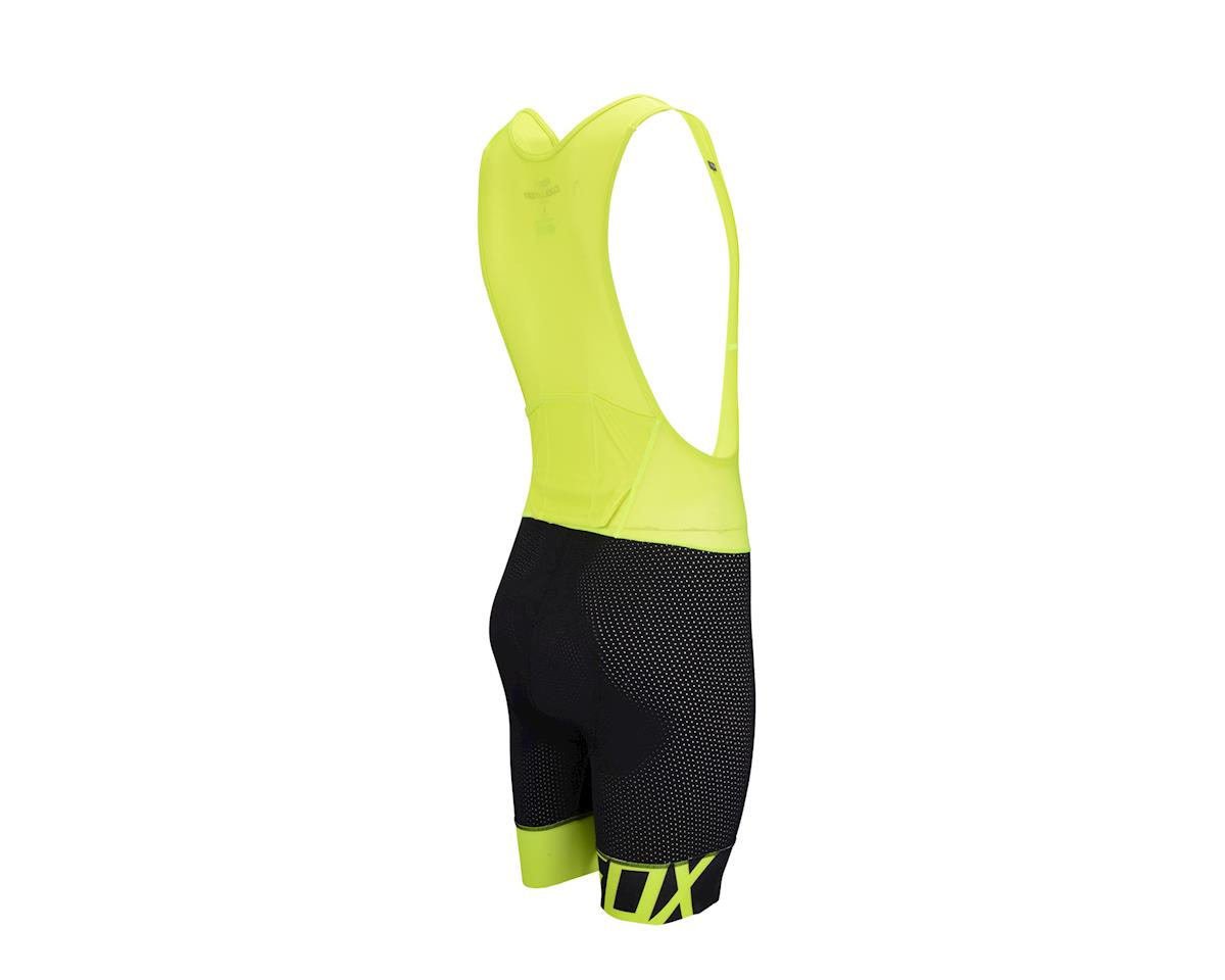 Fox Racing Evolution Pro Men's Bib Liner Short (Black/Yellow)