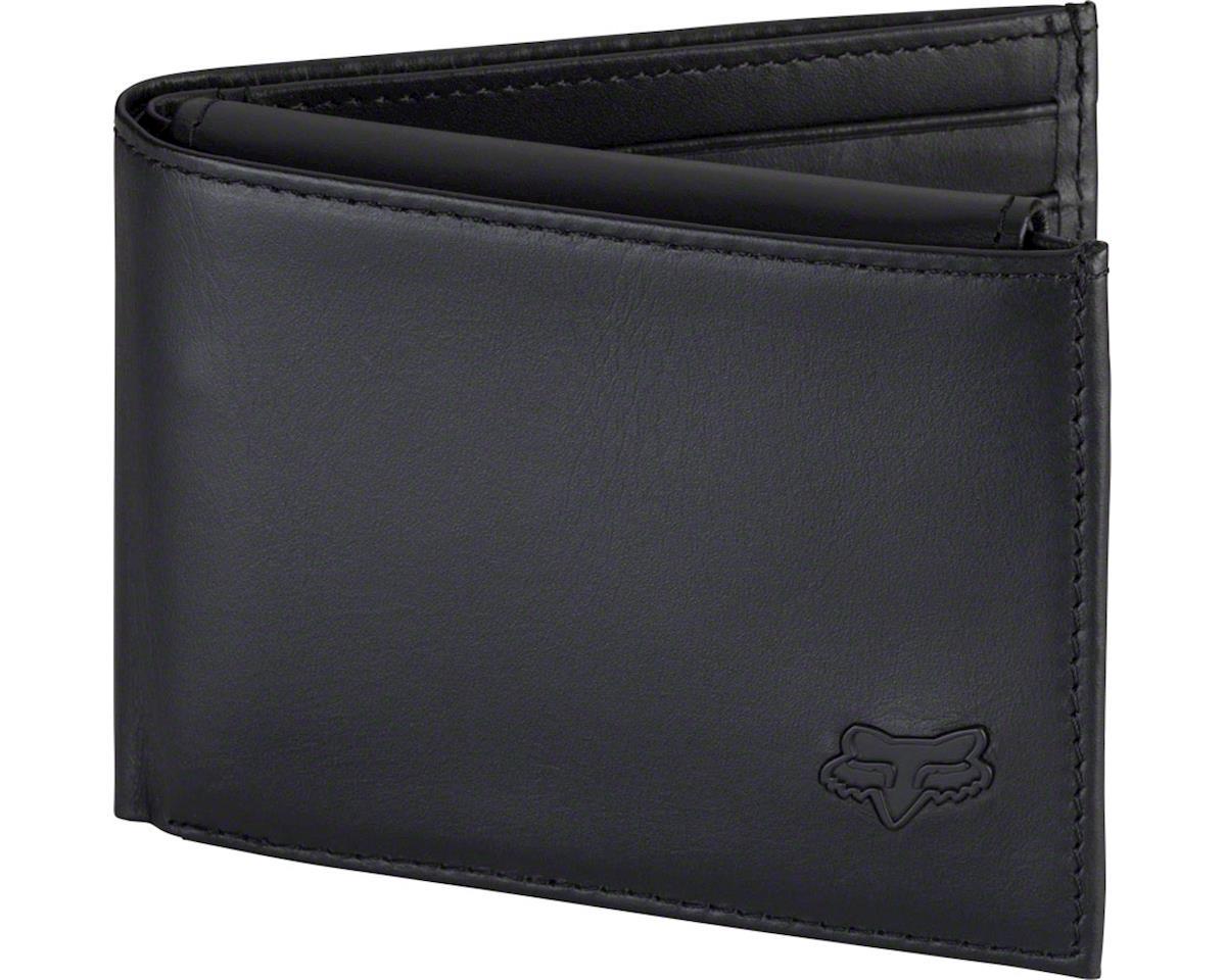 Fox Racing Leather Bifold Wallet (Black NS)