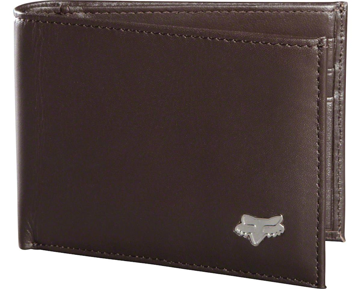 Fox Racing Leather Bifold Wallet (Brown NS)