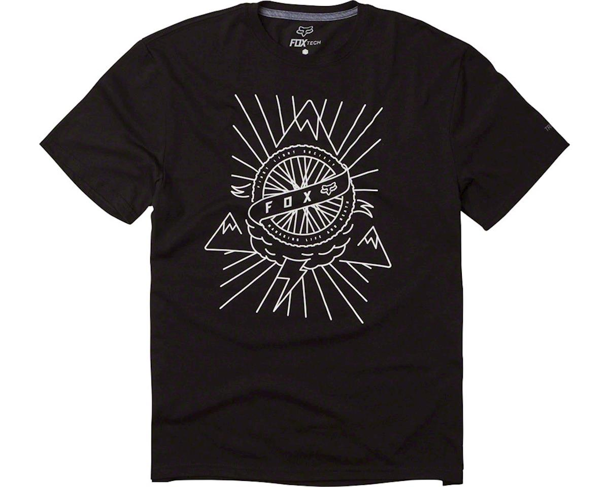 Fox Racing First Light Men's Tech Tee: Black