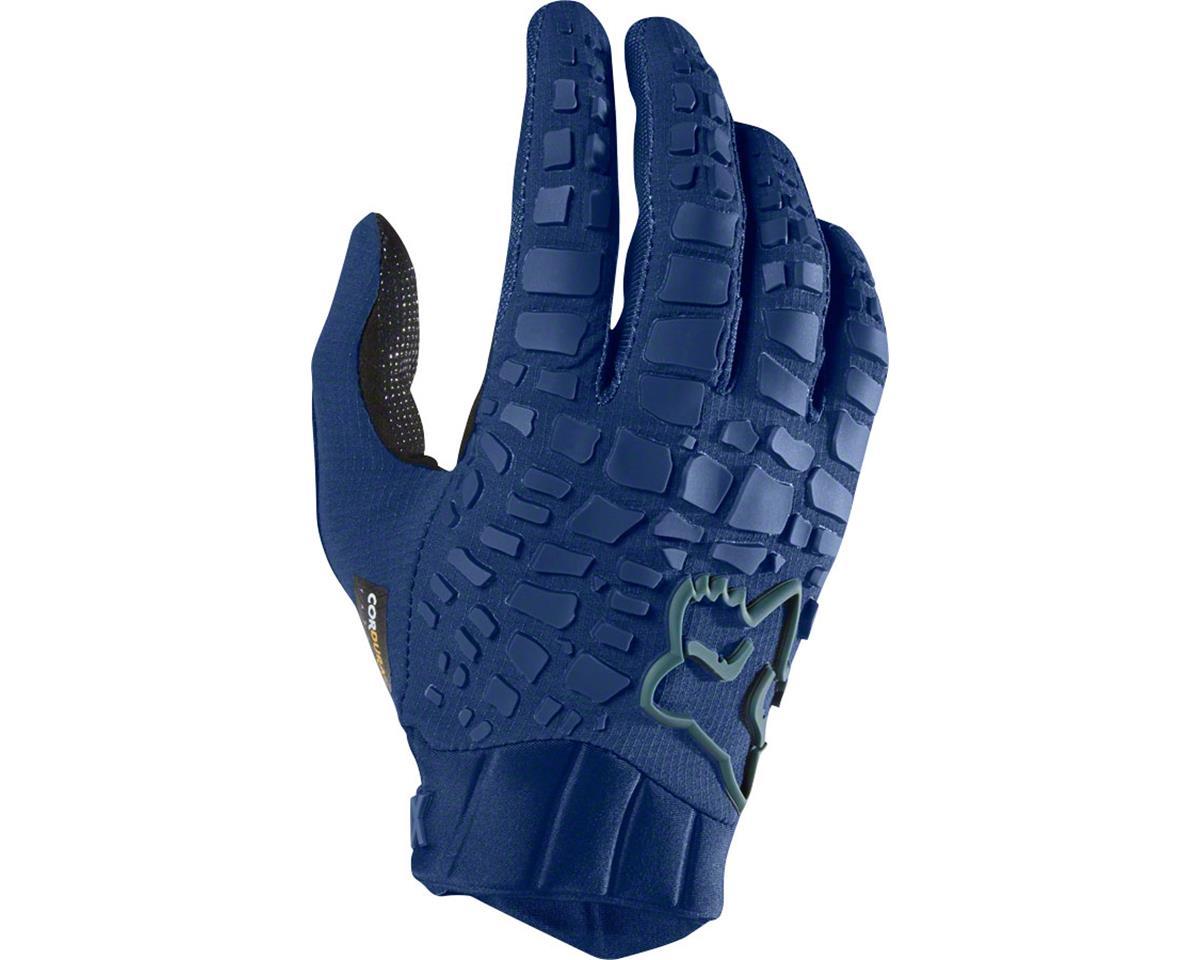 Fox Racing Sidewinder Men's Full Finger Glove: Light Indigo 2XL