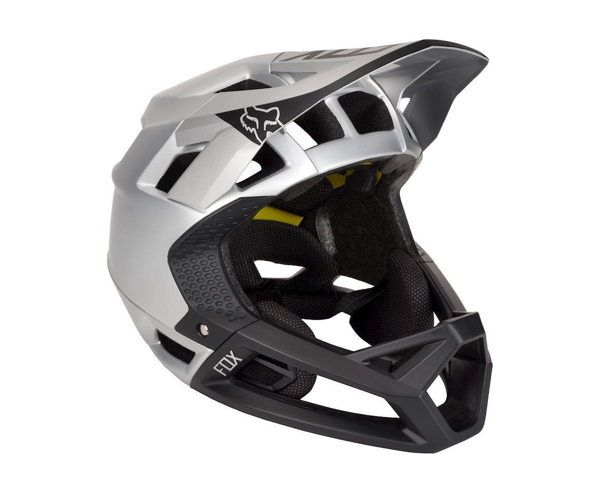 Fox Racing Proframe Full Face Helmet (Moth Black/Silver)