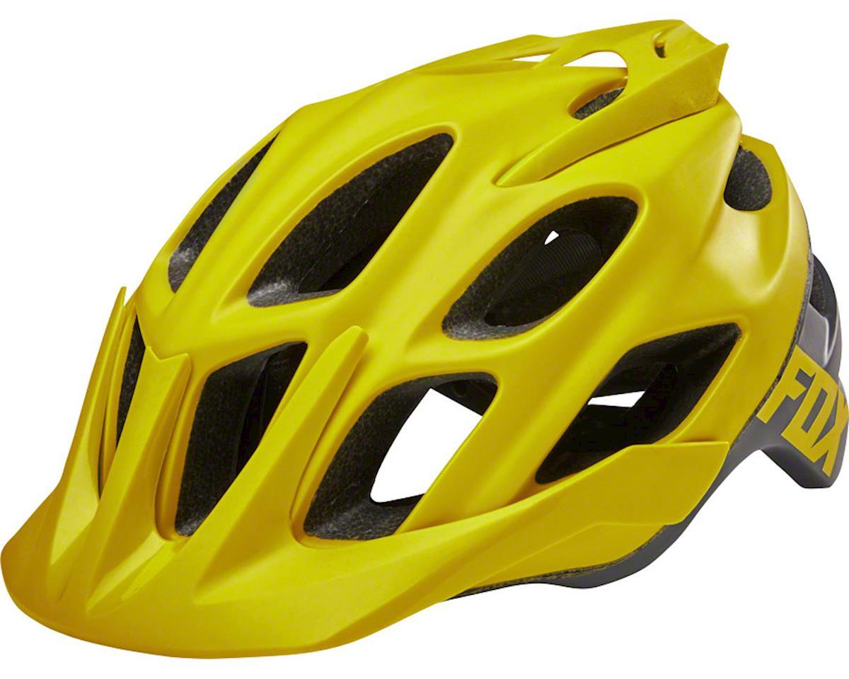 Fox Racing Flux Trail Helmet: Sage LG/XL