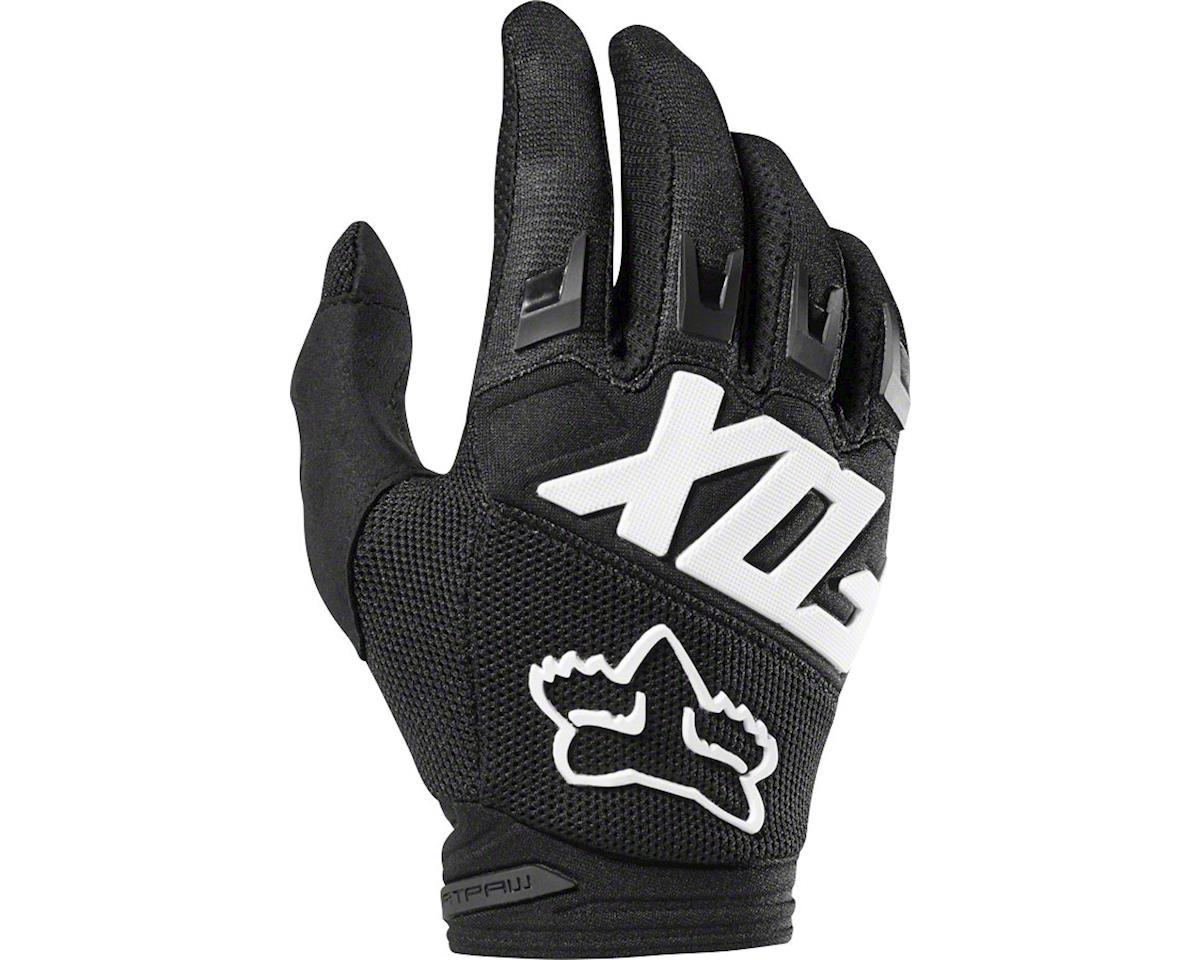 Fox Racing Dirtpaw Men's Full Finger Glove: Black/Pink 2XL