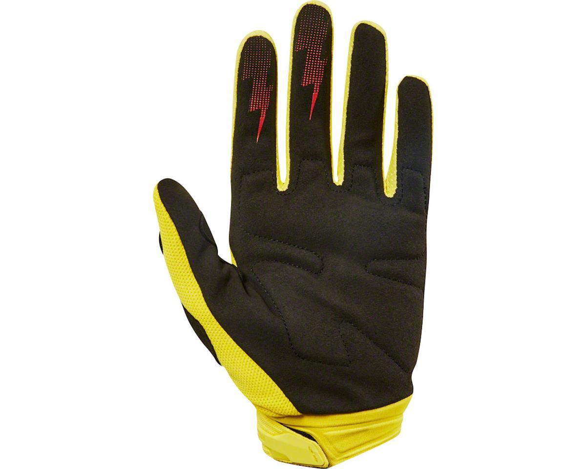 Fox Racing Dirtpaw Men's Full Finger Glove (Yellow) (M)