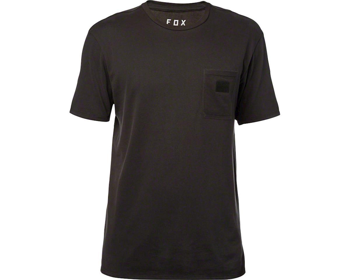 Fox Racing Stymm Airline Men's Short Sleeve Tech Tee: Black Vintage