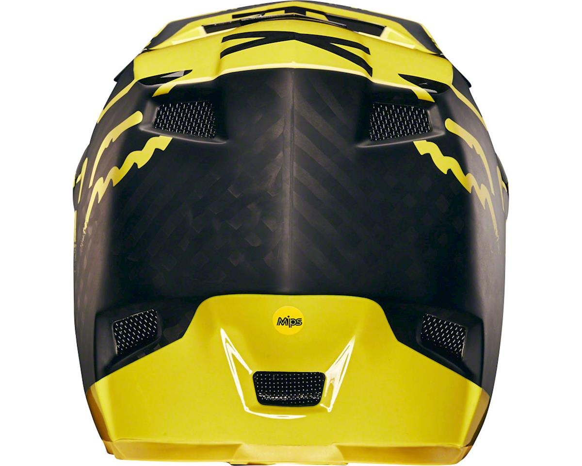 Fox Racing Racing Rampage Pro Carbon Full Face Helmet (Moth Black/Yellow)