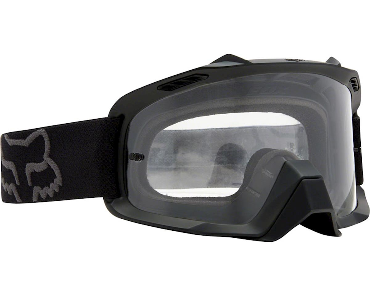 Fox Racing Air Space Goggle: Matte Black One Size