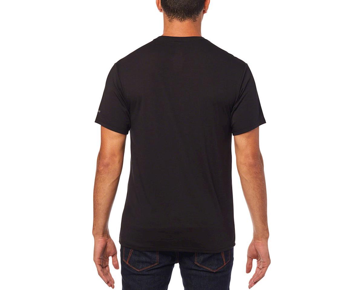 Fox Racing Tournament Men's Short Sleeve Tech Tee (Black) (XL)