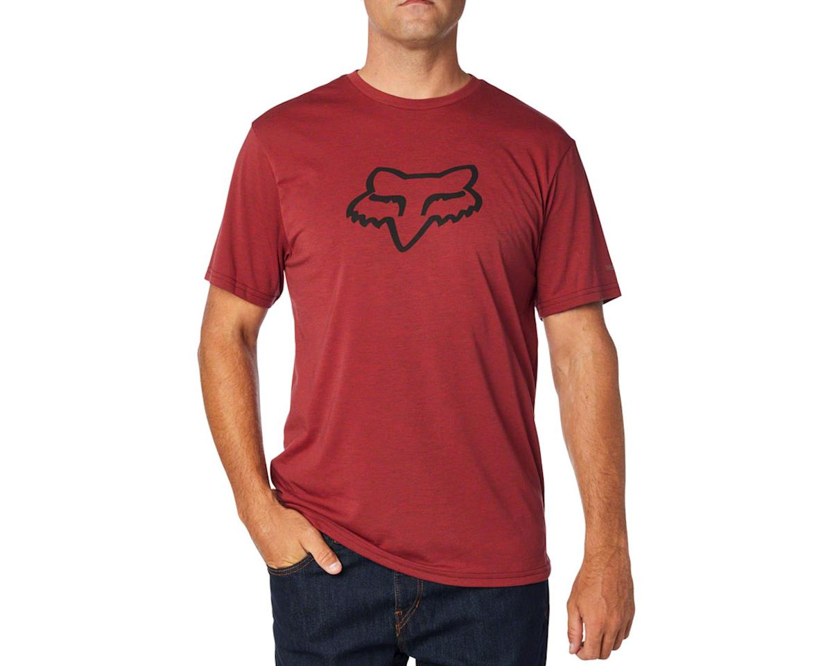 Fox Racing Tournament Men's Short Sleeve Tech Tee (Red)