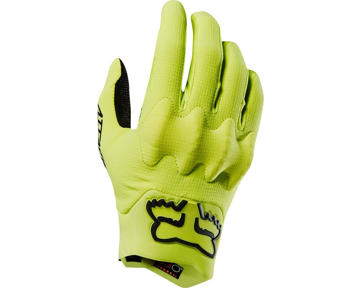 Racing Attack Men's Full Finger Glove (Yellow/Black)