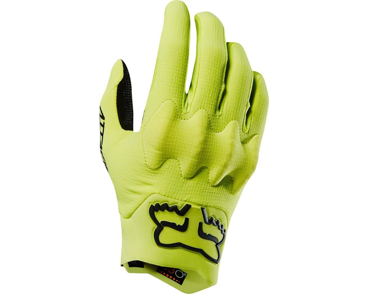 Fox Racing Attack Men's Full Finger Glove (Yellow/Black)