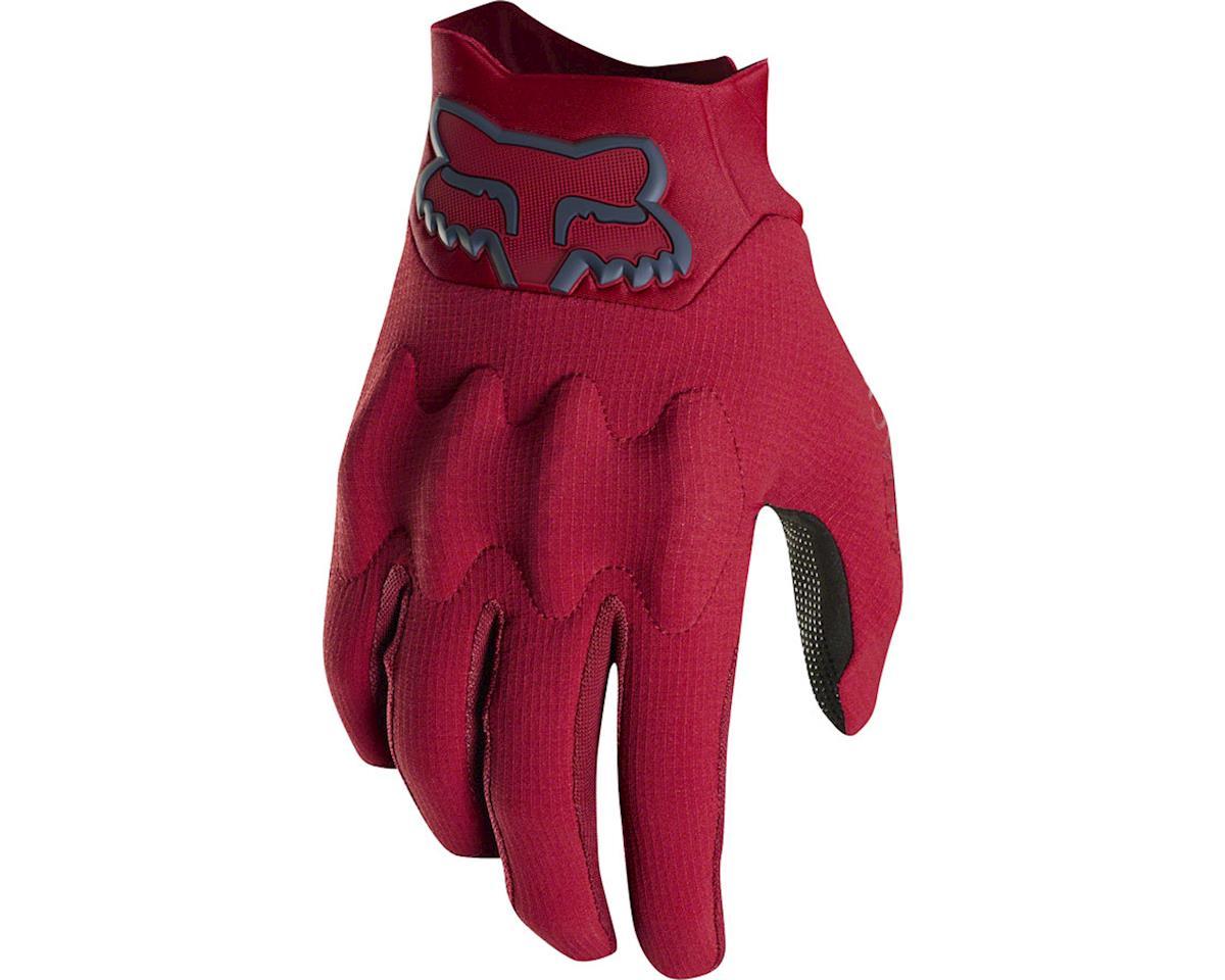 Fox Attack Men's Full Finger Glove (Cardinal Red) (L)