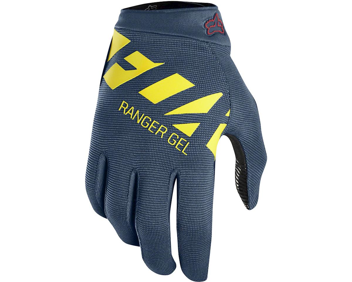 Fox Racing Ranger Gel Men's Full Finger Glove (Midnight Blue) (M)