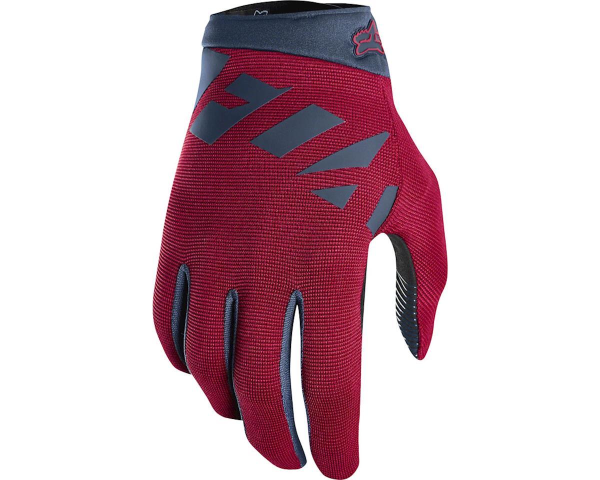 Fox Racing Ranger Men's Full Finger Glove (Cardinal Red) (M)