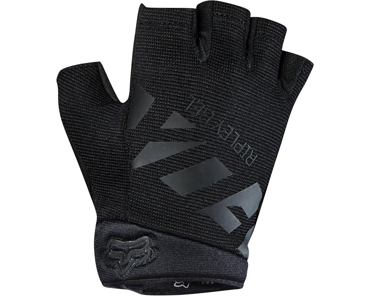 Fox Racing Ripley Gel Women's Short Finger Glove (Black/Black) (S)