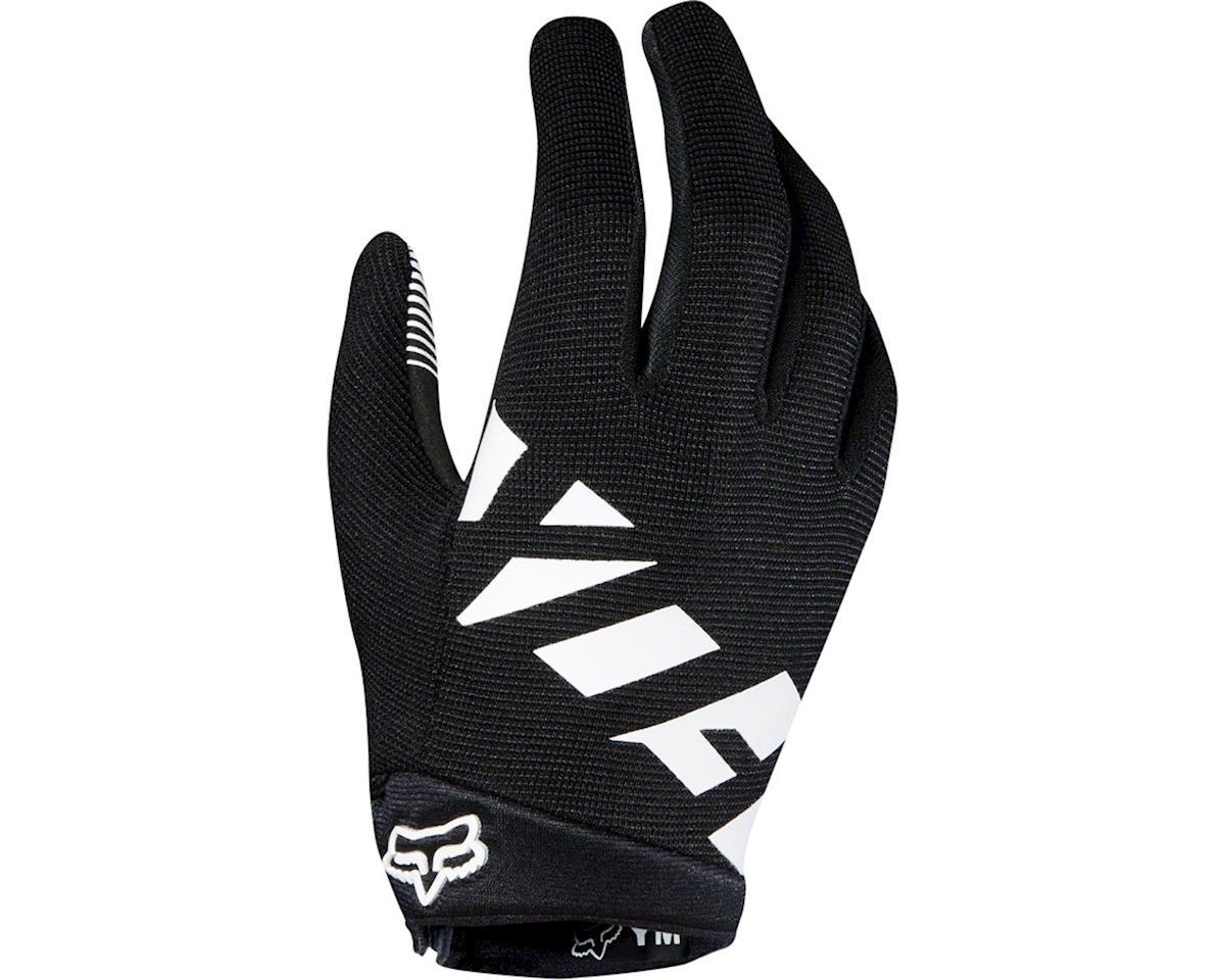 Fox Racing Ranger Youth Full Finger Glove (Black/White)